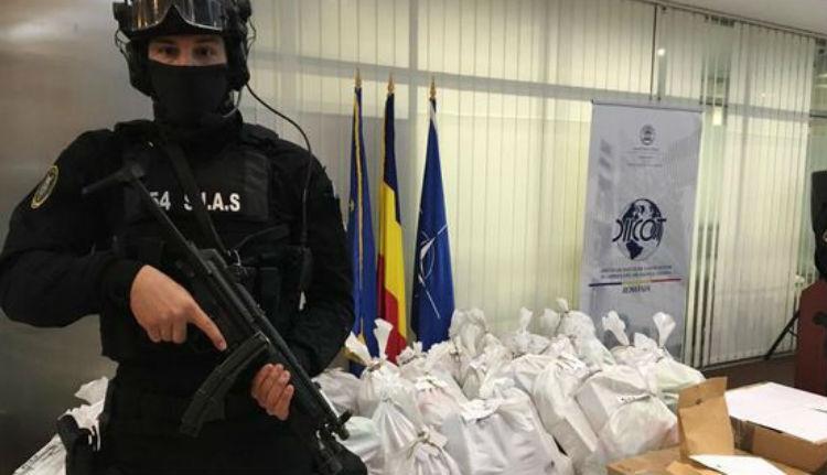 Szinte felfoghatatlanul nagy értékű kokaint találtak a román hatóságok (VIDEÓval)